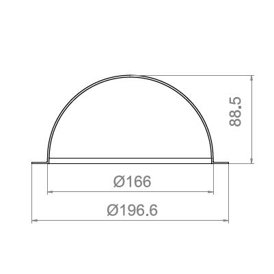 6.5寸球罩